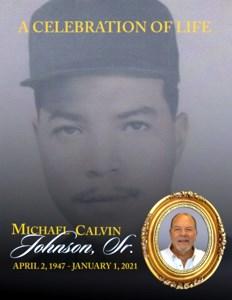 Michael Calvin  Johnson Sr.