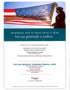 Service of  Rememberance