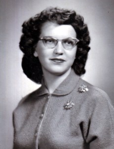 Betty Louise  (Bidwell) Wright