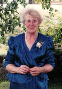 Ruby Winnifred Grace  Burry