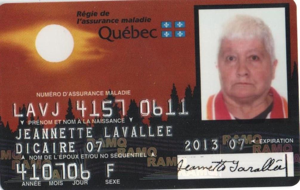 Jeannette  Lavallée