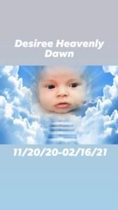 Desiree Heavenly Dawn  Heuer