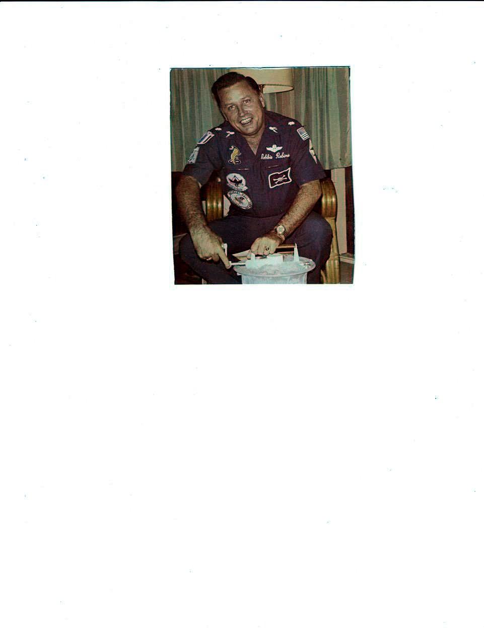 Lt. Col. Donald M  Robinson (USAF) Retired