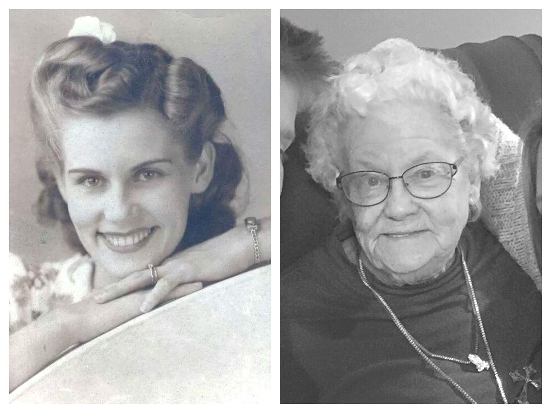 """Leola   Marie """"Granny""""  Glassinger Mendoza"""