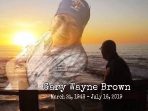 Gary Wayne  Brown