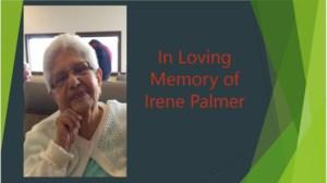 Irene Ruth  Palmer