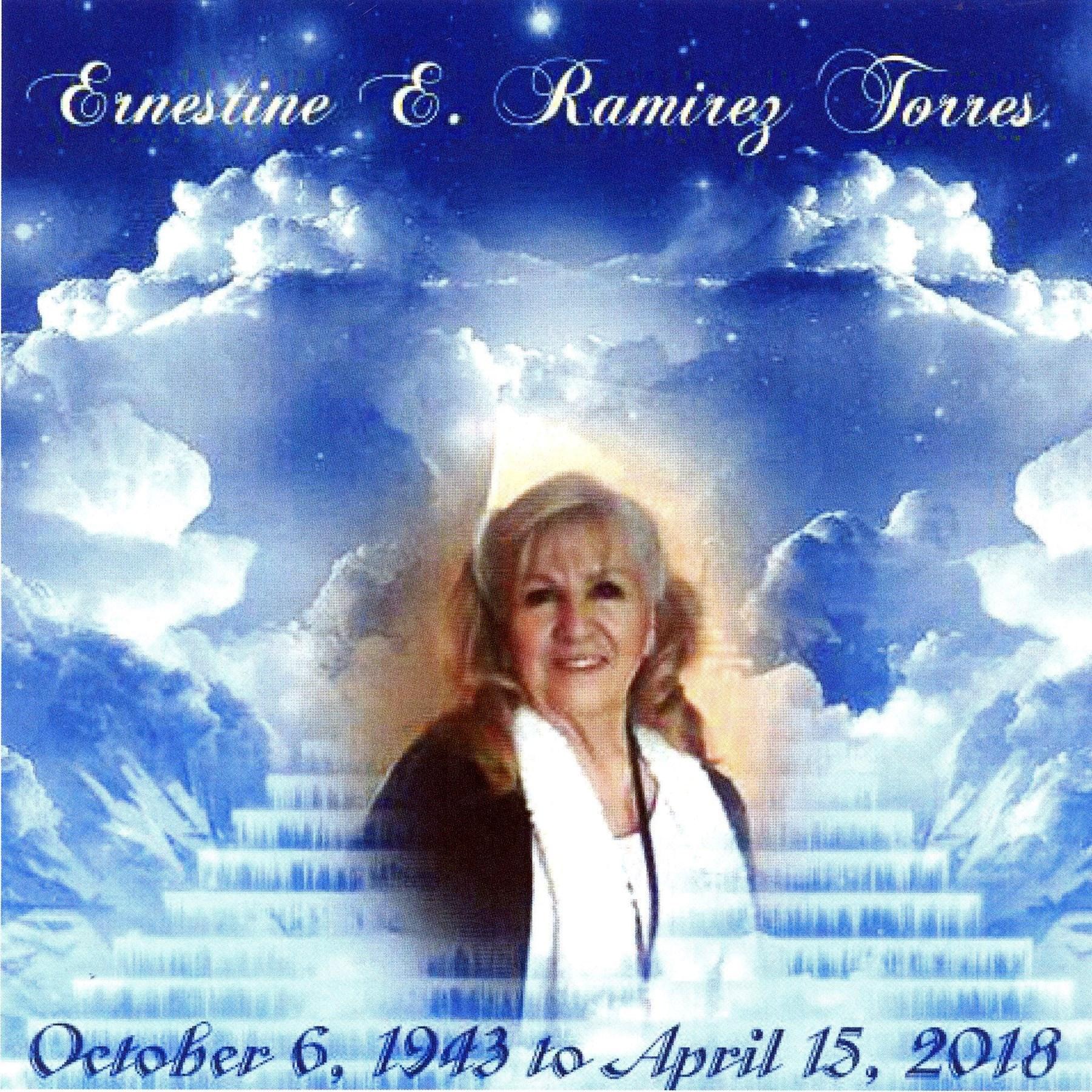 Mrs. Ernestine Esparza  Ramirez Torres