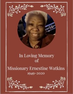 Missionary Ernestine  Watkins