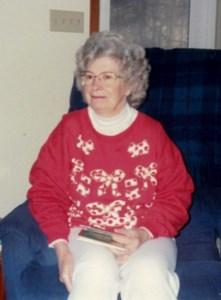 "Ivy ""Nanny"" Maud  Goodhall Gregory"